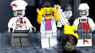 Lego Zombie Attack 🔴 Zombie Virus in Lego City  🧟 💥