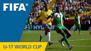 Highlights: Brazil v. Nigeria - FIFA U17 World Cup Chile 2015
