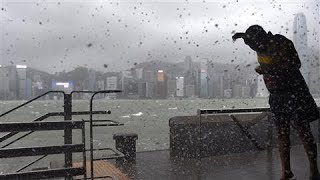 Deadly Typhoon Hato Hits Hong Kong and Macau