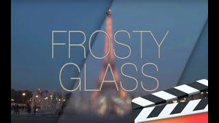 Frosty Glass Effect for Final Cut Pro X