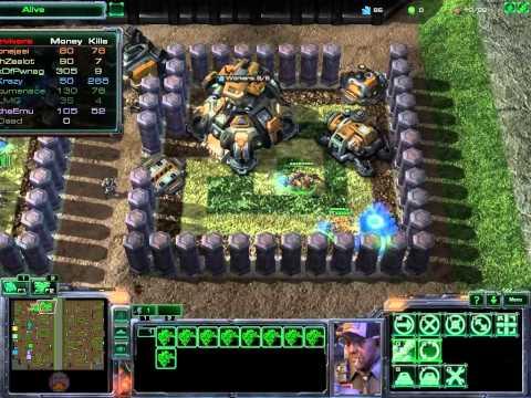 SC2 FFS Event236 Game 7 Part 1/3  (Zombie Hell Alpha)