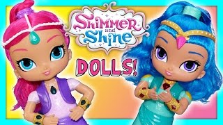 SHIMMER AND SHINE Nick Jr  Shimmer and Shine Wish and Spin Magical Unboxing New Toy Review