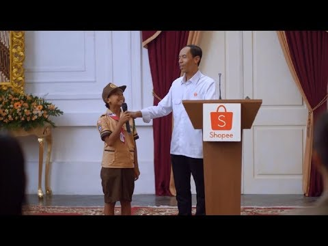 Iklan Shopee Parody Hadiah Sepeda Jokowi 30sec 2017