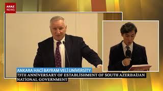 73th anniversary of establishment of South Azerbaijan National Government   Ankara14 12 2018