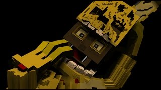 Minecraft PS4 - Five Nights at Freddy's 3 - SURVIVAL ( FNAF 3 Custom Map on Minecraft PS3, PS4 )