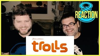 Trolls Official Trailer #1 Reaction and Review
