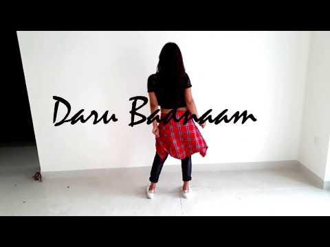 DARU BADNAAM | Dance Video | Covered by - Manisha_momoss