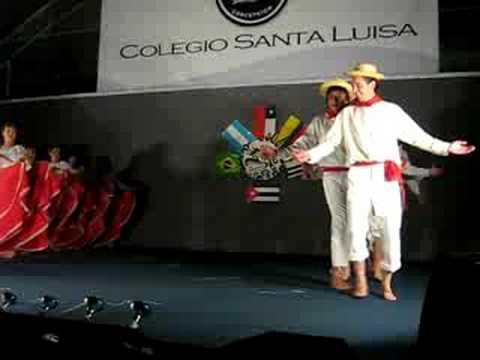 pollera colora Profesores Colegio Santa Luisa concepcion