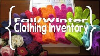 Clothing Inventory (Large Family Organization)