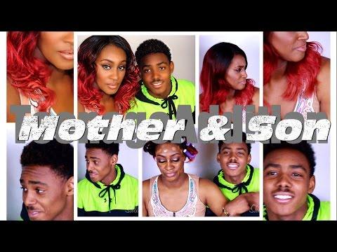 Mother & Son Tag: Teenage Edition featuring Da'Vion Kidd Jackson.                GRWM Kinda!!!