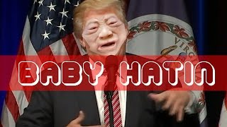 Baby Donald Trump kicks out mom and her baby during speech