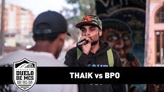 BPO vs Thaik (2ª Fase) - Duelo de MCs - Tradicional - 13/08/17