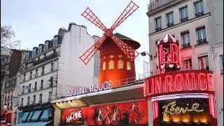 EXPLORING PARIS: The Red Light Sex Show Area (Pigalle)