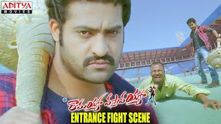 Ramayya Vasthavayya Movie - NTR Entrance Fight Scene - NTR, Samantha, Shruti Haasan