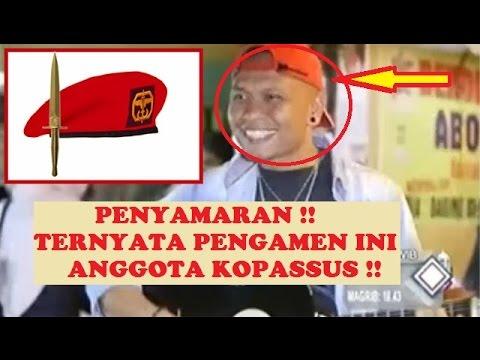 PEngamen PAsar ini Ternyata ANGGOTA Baret Merah KOPASSUS Militer Indonesia