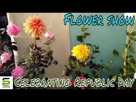 Flower Show | Celebrating Republic Day | Santragachi New Star Club | 2017