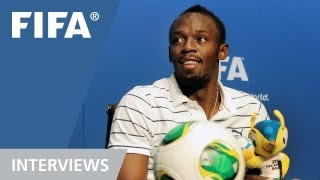 Usain Bolt: The best footballer in the world is ...?