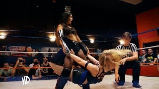 Womens Wrestling // Pollyanna Peppers V Katey Harvey // FULL MATCH