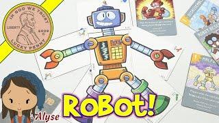RobotLab Card Game - We Build A Robot & Avoid The Sabotage!