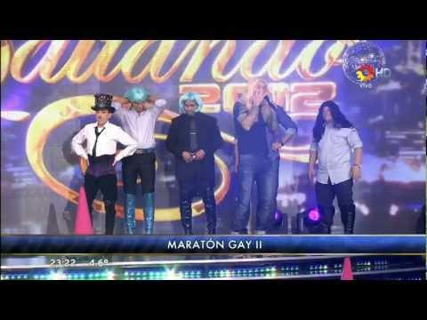 MARATON GAY Y FIESTA COMPLETA EN BAILANDO 2012 FULL HD