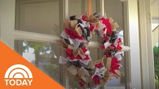 Welcome Everyone For The Holidays With This Adorable Ribbon Wreath | TODAY