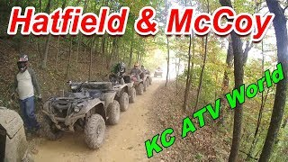 ATV Riding at Hatfield & McCoy trails, Gilbert WV.Sept 2017