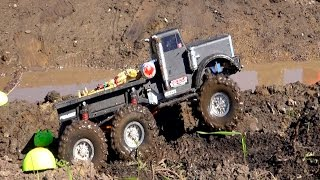RC ADVENTURES - TTC 2015 - SWAMP RUN / TANK TRAP - Tough Truck Challenge (Event 4)