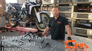 Honda Africa Twin 1000 - Engine Guard Installation