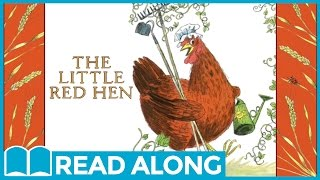 The Little Red Hen #ReadAlong StoryBook Video For Kids Ages 2-7