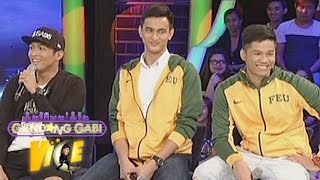 GGV: Vice pokes fun at FEU cagers Michael, Russel and Roger