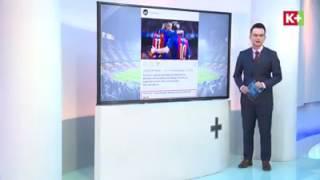 Phản ứng của neymar khi messi đăng video dành cho neymar