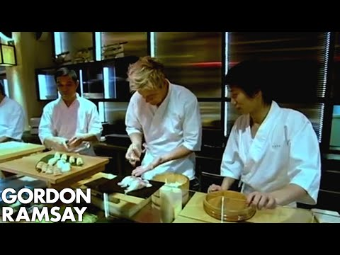 Learning to make Sushi - Gordon Ramsay