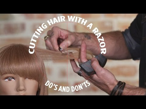 Xxx Mp4 Cutting Hair With A Razor Do S And Don Ts 3gp Sex