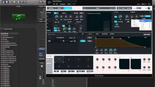 How to make a FM Dubstep like bass in Logic Pro X 10.2 Alchemy