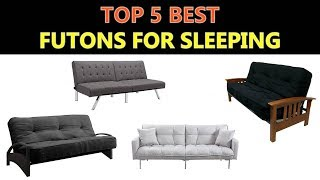 Best Futons for Sleeping 2019