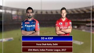 In Graphics: IPL - 2017, Delhi vs Punjab