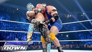 Ryback vs. Kalisto – WWE World Heavyweight Championship Tournament: SmackDown, Nov. 12, 2015