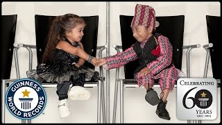 World's Shortest People - Guinness World Records 60th Anniversary