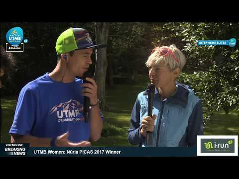 UTMB® 2017 - Interview Andre HUSER (2nd woman)