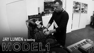 JAY LUMEN is testing MODEL 1 / 10-11-2016 / PLAYdifferently