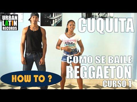COMO SE BAILE REGGAETON CUBANO ► CLASE DE BAILE 1 ► REGGAETON CHOREOGRAPHY ► CON CUQUITA