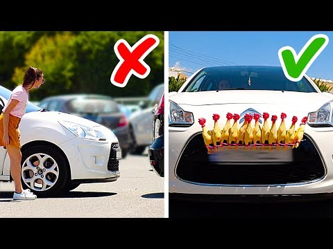 16 AMAZING CAR TIPS AND TRICKS