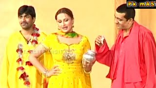 Best of Zafri Khan and Nargis Stage Drama Full Funny Comedy Clip