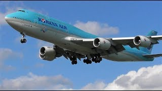 1 HOUR+ of Plane Spotting at London Heathrow Airport, LHR   01-05-18