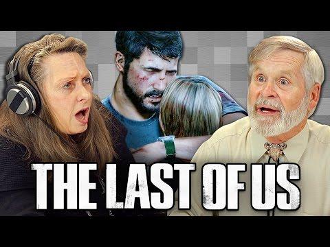 ELDERS PLAY THE LAST OF US Elders React Gaming