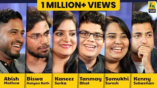 Interview With Tanmay, Kenny, Abish, Biswa, Kaneez and Sumukhi | Comicstaan