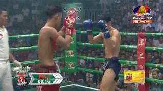 Khmer Boxing Daily, ព្រឿង សុជាតិ ប៉ះ Nuth Kor(Thai) ,  Kun Khmr Boxing, BayonTv Boxing