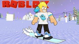 Breaking My Bones at the Roblox Ski Resort / Gamer Chad Plays