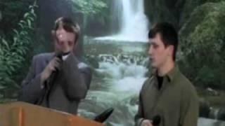 """Pastor Dale and Joshua singing, """"KING JESUS"""""""