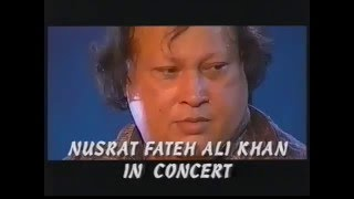 Nusrat Fateh Ali Khan - Akhiyaan Udeek Diyan - Live 1993 - Me Sounds Good
